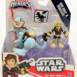 StarWars collection : Star Wars Galactic Heroes Han Solo et Tauntaun Figurine Jouet