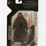 "StarWars collection : Star Wars The Black Séries Archive 6 "" Darth Maul Figurine"
