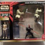 """Figurine StarWars : Applause Star Wars Episode I Theed Hangar 4 Piece 3"""" Figurine Figure Gift Set 3+"""