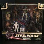 Figurine StarWars : 2007 DISNEY Star Wars Collectible Figurine Set -Theme Park Exclusive Star Tours