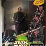 "Figurine StarWars : figurine Star wars Darth Maul  ""mega action"" 2000"