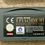 Nintendo Gameboy Advance GBA Star Wars - jeu StarWars