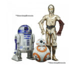 StarWars figurine : Star Wars - Episode VII - R2-D2 & C-3PO & BB-8 Artfx+ 1/10 PVC Figurine
