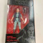 StarWars collection : Hasbro STAR WARS The Last Jedi Black Series GENERAL LEIA ORGANA Figurine NIB