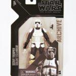 "StarWars collection : Star Wars The Black Séries Archive 6 "" Motard Scout Figurine"