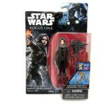 StarWars figurine : FIGURINE - Star Wars Action Figure-Collectible Toys-Sergent Jyn Erso 3.75''-
