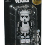 Figurine StarWars : Star Wars Medicom Japon Bearbrick Stormtrooper Figurine Porte-Clé #22
