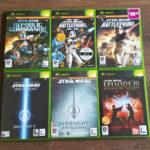 XBOX 6x Star Wars Bundle Games Battlefront - jeu StarWars