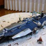 Figurine StarWars : Lot rare grand vaisseau LEGO STAR WARS 9515 la malveillance  + 6 FIGURINES