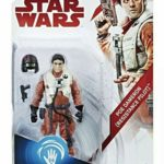 StarWars collection : Star Wars The Last Jedi Poe Dameron Resistance Pilot Force Link Figure Hasbro