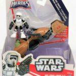 StarWars figurine : Star Wars Galactic Heroes Scout Trooper And Speeder Bike Figurine Jouet