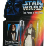 StarWars collection : Star Wars Power Of The Force (1995) Ben Obi-Wan Kenobi Rouge Carte Figurine