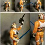 "StarWars figurine : Star Wars Classique POTF2 Luke X-Wing Pilote 3.75 "" Figurine"