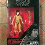 "Figurine StarWars : Star Wars Noir Résistance Tech Rose 3.75 "" Figurine 2017 The Last Jedi"