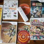Five Wii Games And White Wiimote Inc Lego - Occasion StarWars