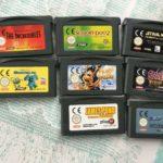 8 Games for Nintendo Gameboy Advance - - Avis StarWars