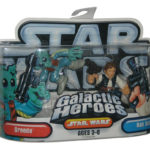 Figurine StarWars : Star Wars Galactic Heroes Greedo & Han Solo Hasbro Ensemble de Figurines