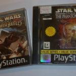 PS1 PLAYSTATION 1 STAR WARS GAMES BUNDLE - Bonne affaire StarWars