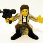 StarWars figurine : Star Wars Hasbro Galactic Heroes Playskool Han Solo Figurine 2007