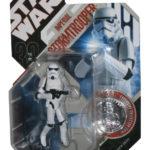 StarWars figurine : Star Wars 30ème Anniversaire Impérial Stormtrooper Figurine W/Silver Coin