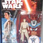Figurine StarWars : Star Wars Série Noire le Réveil de la Force Collecteur Figurine Rey Starkiller