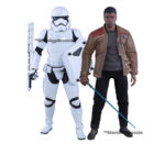StarWars collection : Star Wars - Finn & First Order Riot Contrôle Stormtrooper Figurine Hot Toys