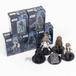 StarWars collection : Star Wars - Ensemble 5 Figurines / Han Solo & Luke & Chewbacca & More / 5