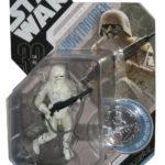 Figurine StarWars : Star Wars 30ème Anniversaire Concept Snowtrooper Figurine W/Silver Coin
