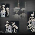 """StarWars figurine : Star Wars 30TH Anniversaire Fosse Droides (Blanc) 3.75 """" Figurine"""
