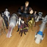 Figurine StarWars : Lot Figurines et Véhicules Star Wars