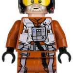 StarWars figurine : Lego Star Wars Poe Dameron sw658 (From 75102) Helmet Minifigure Figurine New