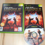 Xbox Original Pal Game STAR WARS EPISODE III  - Occasion StarWars