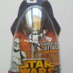 Figurine StarWars : STAR WARS FIGURINE CLONE TROOPER SÉRIE REVENGE OF THE SITH SOUS BLISTER NEUF