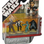 StarWars collection : Star Wars Unleashed Cantina Encounter Trouble sur Tatooine Ensemble de Figurines