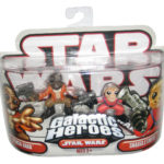 Figurine StarWars : Star Wars Galactic Heroes Ponda Baba & Snaggletooth Hasbro Ensemble de Figurines