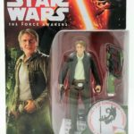 StarWars figurine : Star Wars Force Awakens Han Solo Forest Mission 9.5cm Jouet Figurine D'Action