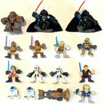 Figurine StarWars : CHOOSE: 2001 Star Wars Galactic Heroes Figurines * Combine Shipping!