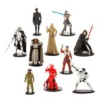 StarWars collection : Star Wars Disney The Last Jedi Deluxe Figurines Play Set 10 Pk Cake Topper NIB