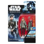 Figurine StarWars : Hasbro Star Wars Rogue One Figurine de Base Sergent Jyn Erso
