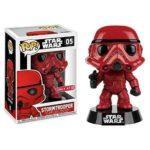 StarWars collection : Funko Figurine Pop!Star Wars Stormtrooper Rouge Exclusive