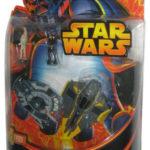 StarWars collection : Star Wars Micro Vechicles Jedi Starfighter & Droid Tri-Fighter Figurine Set