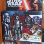 Figurine StarWars : Star Wars Force Awakens Capitaine Phasma Misb Neuf Disney