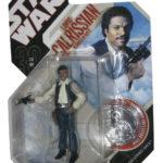 StarWars collection : Star Wars 30ème Lando Calrissian en Contrebandier Déguisement Figurine W/Silver