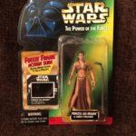 StarWars collection : 1997 Star Wars Princesse Leia Organa comme de JABBA Prisonnier Figurine avec /