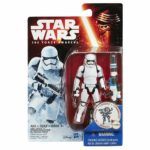 "StarWars collection : Star Wars The Force Awakens 3.75 "" Figurine Neige First Ordre Stormtrooper +"