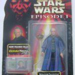 StarWars collection : Star Wars Episode Le Sénateur Palpatine Figurine Commtech Japon