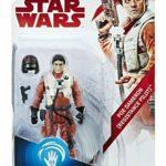 Figurine StarWars : Hasbro Star Wars The Last Jedi Poe Dameron (Resistance Pilot) Force Link Figure