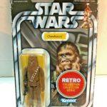 Figurine StarWars : Star Wars Rétro Collection Chewbacca Figurine Kenner Disney Hasbro 2018