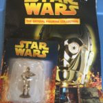 StarWars collection : STAR WARS Official Figurine Collection #4 C3PO & Magazine Used
