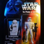 """StarWars collection : 1995 Star Wars """"The Power of the Force"""" Stormtrooper figurine Kenner"""